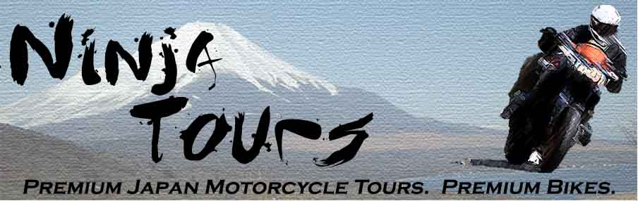 NinjaTours Premium Japan Motorcycle Tours on Premium Bikes