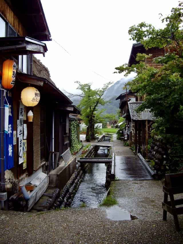japan motorcycle tour ninjatours kyoto takayama traditional shopping street