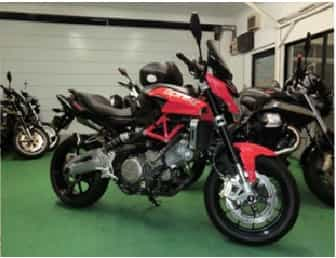 Ninjatours Japan motorcycle tours Aprilia Shiver 750V Twin