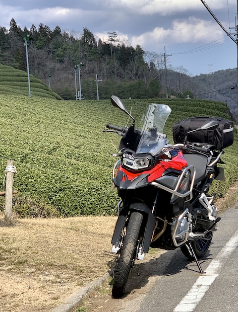 Japan motorcycle tours ninjatours Nabari Shizuoka tea fields
