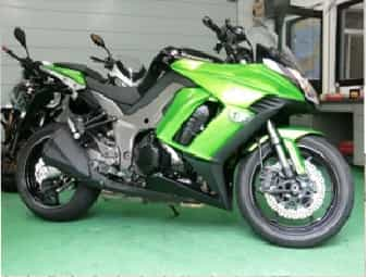 Ninjatours Japan motorcycle tours Kawasaki 1000 Ninja Touring Edition