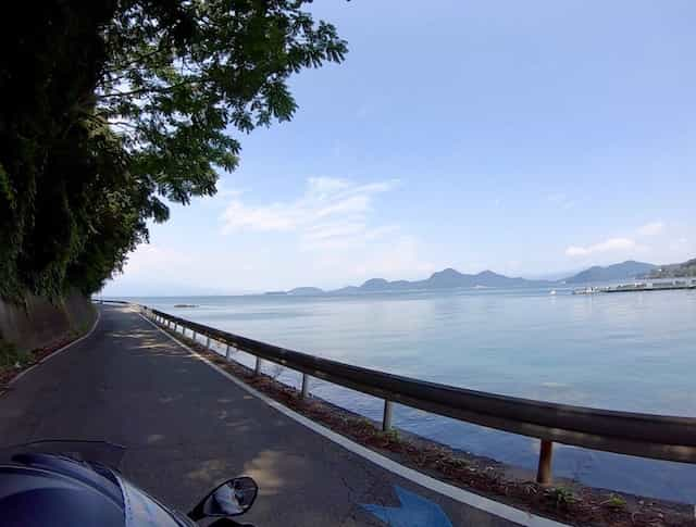 japan motorcycle tour ninjatours nishi izu mt fuji lakeside view