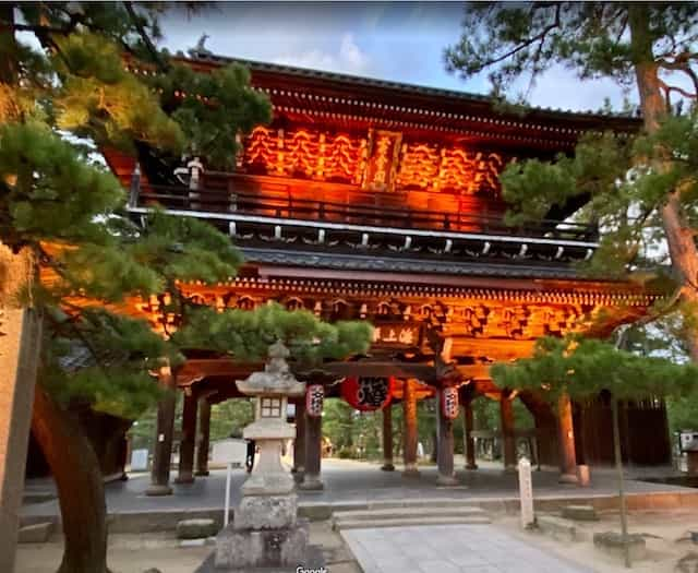 Japan motorcycle tours ninjatours kyoto maizuru cherry blossoms tori gate