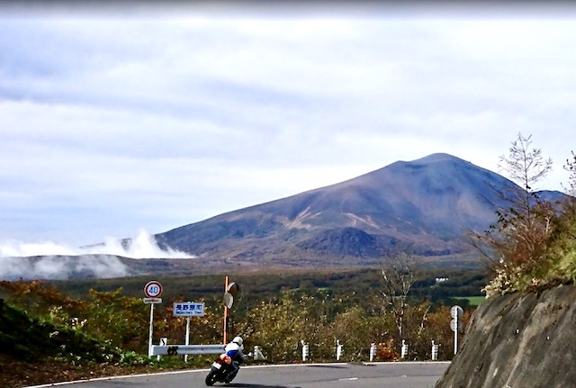 Japan motorcycle tours ninjatours matsunoyama tokyo curvy road with mountains