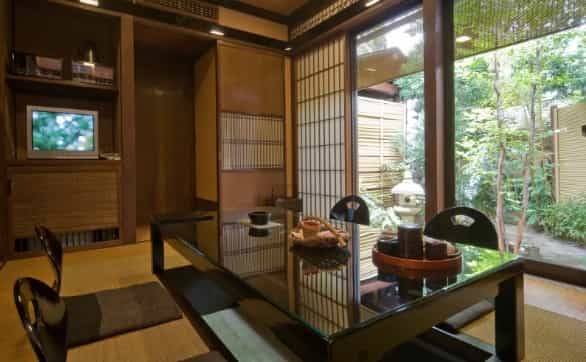 Japan motorcycle tours ninjatours kiso matsumoto ryokan traditional bedroom