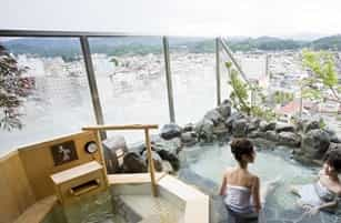 japan motorcycle tour ninjatours kyoto takayama  onsen hot springs bath