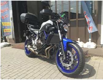 Ninjatours Japan motorcycle tours Yamaha MT-07 ABS